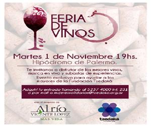 Feria de vinos – Evento Fundación Tzedaká