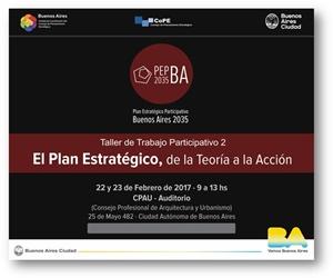Jornadas El Plan Estratégico, de la Teoría a la Acción
